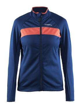 Craft Siberian cycling jacket blue/deep women