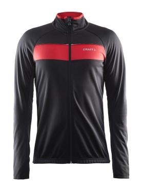 Craft Siberian cycling jacket black/red men