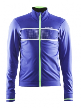 Craft Glow cycling jacket blue/green men