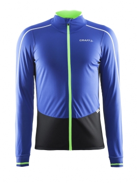 Craft Storm cycling jersey blue/green men