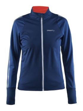 Craft Belle cycling jacket blue/deep women