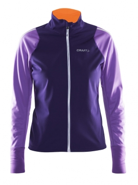 Craft Belle thermal wind jacket purple women