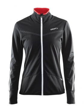 Craft Belle thermal wind jersey black women