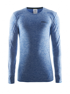 Craft Active Comfort roundneck long sleeve baselayer blue men