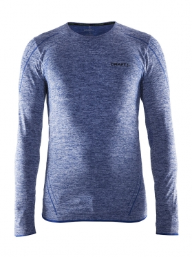 Craft Active Comfort roundneck long sleeve baselayer blue/deep men