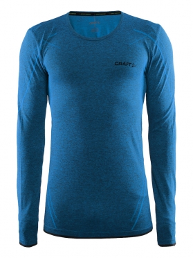 Craft Active Comfort roundneck long sleeve baselayer blue/pacific men