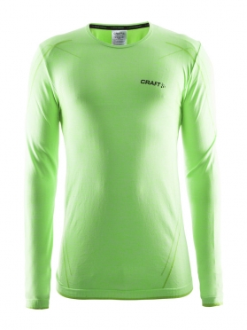 Craft Active Comfort roundneck long sleeve baselayer green men