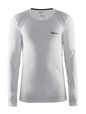 Craft Active Comfort roundneck long sleeve baselayer white men