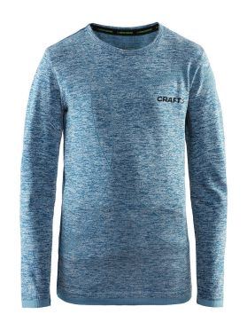 Craft Active Comfort long sleeve baselayer blue/teal junior