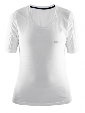 Craft Stay Cool Mesh Seamless shirt women white