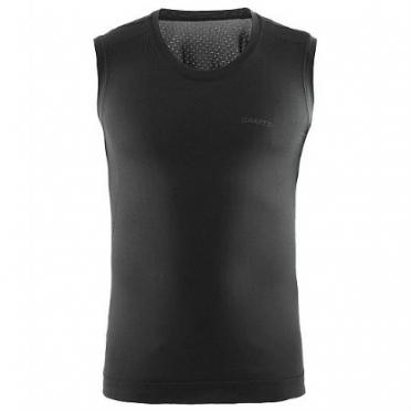 Craft Stay cool mesh seamless sleeveless shirt black men
