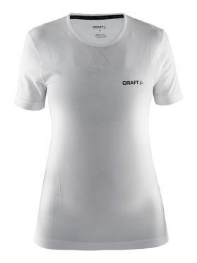 Craft Active Comfort short sleeve baselayer white women