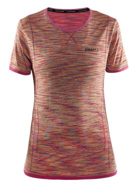 Craft Active Comfort short sleeve baselayer pink/push women