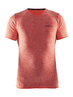 Craft Active Comfort roundneck short sleeve baselayer red/heat men