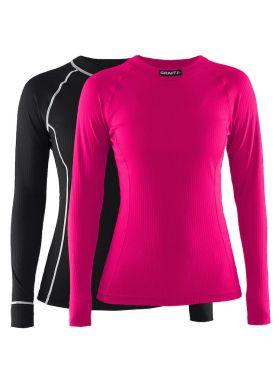 Craft Active Multi 2-pack top black/pink women