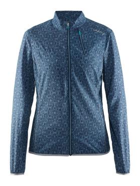 Craft Mind running jacket blue(print) women
