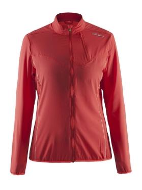 Craft Mind running jacket red/shock women