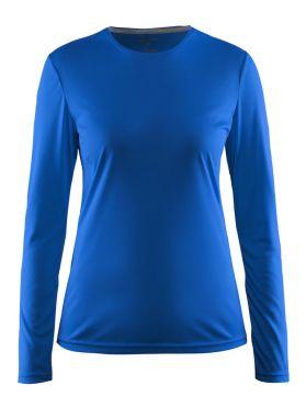 Craft Mind long sleeve running shirt blue women