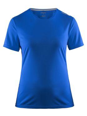Craft Mind short sleeve running shirt blue women