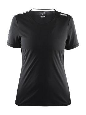 Craft Mind short sleeve running shirt black women