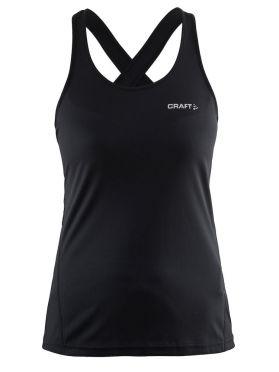 Craft Mind sleeveless running shirt black women