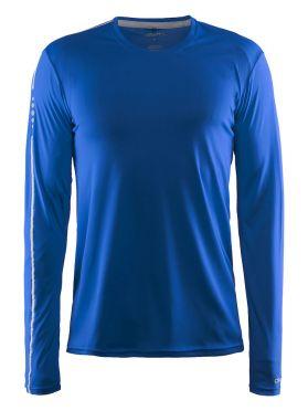 Craft Mind long sleeve running shirt blue men