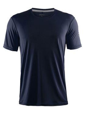 Craft Mind short sleeve running shirt blue/navy men