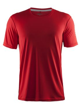 Craft Mind short sleeve running shirt red men