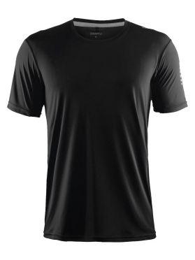 Craft Mind short sleeve running shirt black men