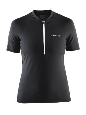 Craft Velo cycle jersey women black/white