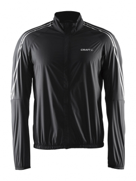 Craft velo wind cycling jacket black men