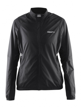 Craft Velo wind cycling jacket black women