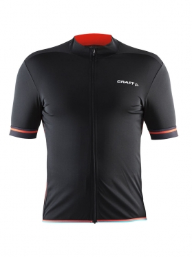 Craft Classic cycle jersey men black/red