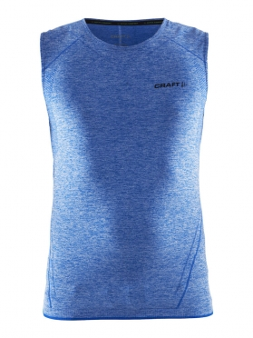 Craft Active Comfort sleeveless baselayer blue/sw men
