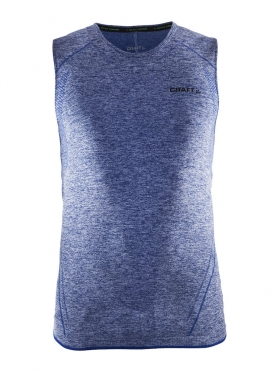 Craft Active Comfort sleeveless baselayer blue/deep men
