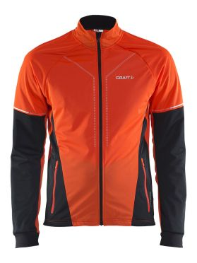 Craft Storm cross-country ski jacket 2.0 red/black men