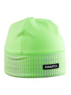 Craft Brilliant 2.0 running winter hat green