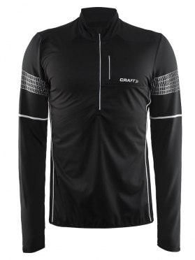 Craft Brilliant 2.0 thermal wind running top long sleeve black men
