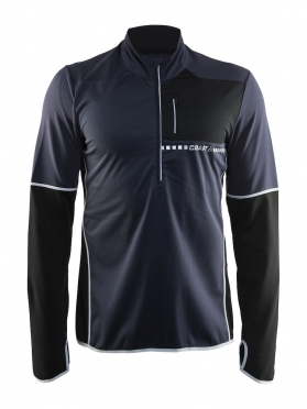 Craft Cover thermal wind running top long sleeve gravel men