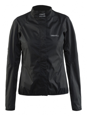 Craft Velo rain cycling jacket black women