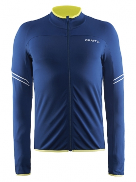 Craft Velo thermal cycling jersey long sleeve blue/deep men