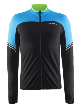 Craft Velo thermal cycling jersey long sleeve blue/pacific men