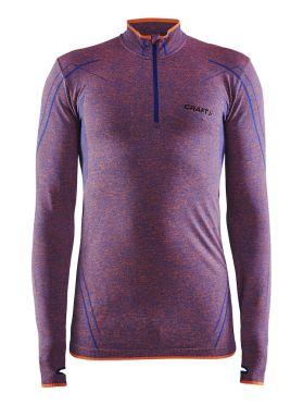 Craft Active Comfort Zip long sleeve baselayer purple/soul men