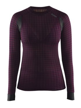 Craft Active extreme 2.0 CN long sleeve baselayer purple women