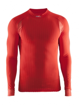 Craft Active extreme 2.0 CN long sleeve baselayer red/drama men