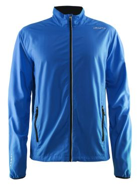 Craft Mind blocked running jacket blue men