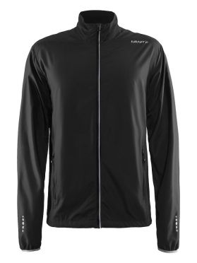 Craft Mind blocked running jacket black men