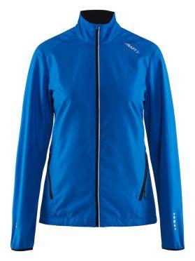 Craft Mind blocked running jacket blue women