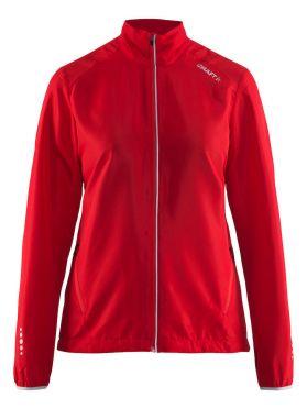 Craft Mind blocked running jacket red women