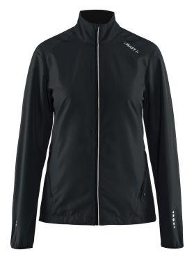 Craft Mind blocked running jacket black women
